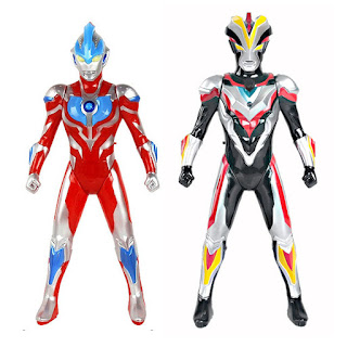 Ultraman Toys Combo 2 in 1 Ginga Victory