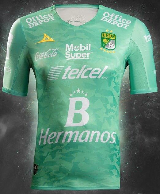 8196fb9faa839 Pirma divulga nova camisa titular do León do México - Testando Novo Site