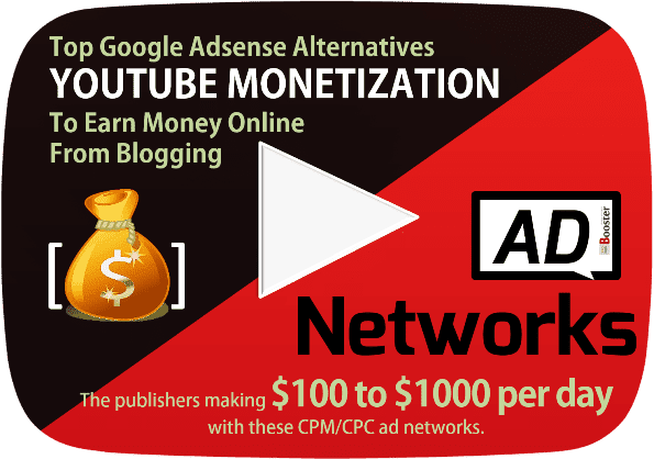 High Paying Google Adsense Alternatives For YouTube Channel Video Monetization