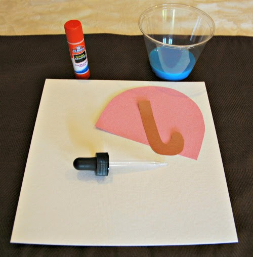 Fine Motor Rainy Day Craft for Kids