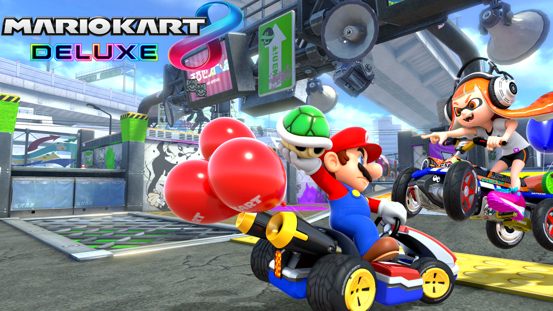download mario kart 8 deluxe wallpapers read games review play online games download games. Black Bedroom Furniture Sets. Home Design Ideas