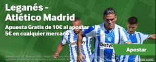 betway promocion Leganes vs Atletico 3 noviembre