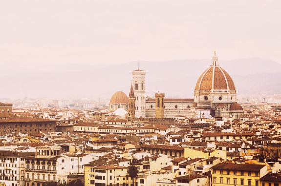 2 days in Florence piazzale michelangelo