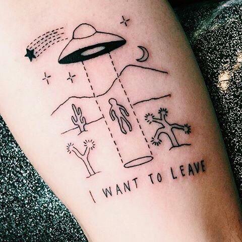 Best Solar System Tattoo