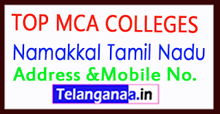 Top MCA Colleges in Namakkal Tamil Nadu