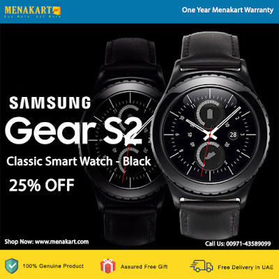 Samsung Gear S2 Classic Smart Watch - Black