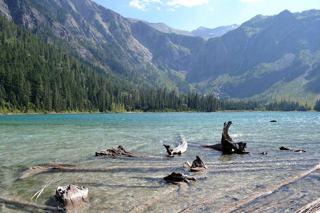 Національний Парк Глейшир: озерo Аваланч (Avalanche lake, Glacier National Park, MT)