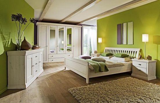 Dormitorios color verde dormitorios colores y estilos - Color paredes habitacion ...