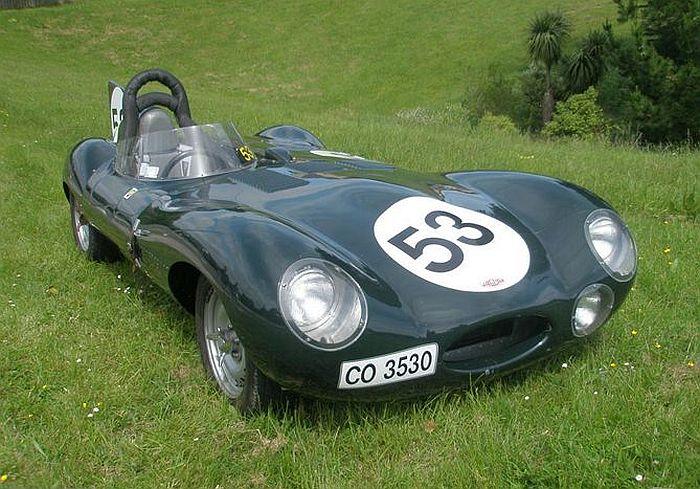 transpress nz: 1956 Jaguar D type