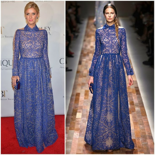 Nicky Hilton in Valentino from Fall 2013 collection – American Ballet Theatre 2013 Opening Night Fall Gala