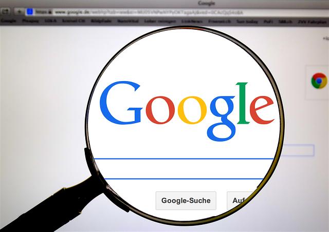 Munadi di Google SERP