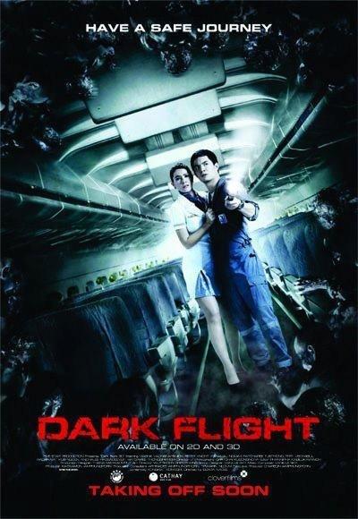 Poster Of 407 Dark Flight 2012 720p Hindi BRRip Dual Audio Full Movie Download