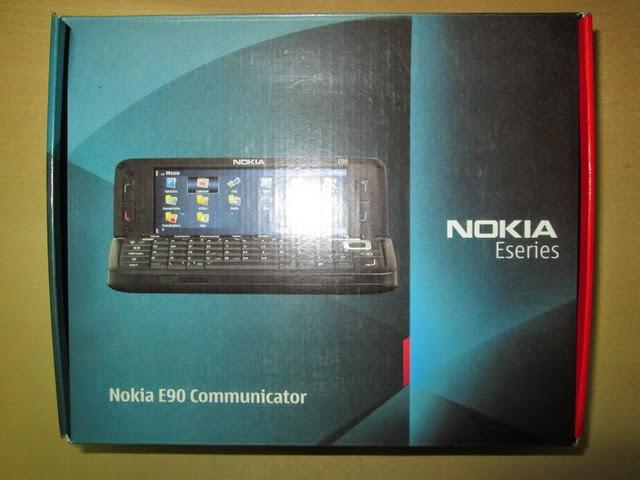 Dus Nokia E90 Seken