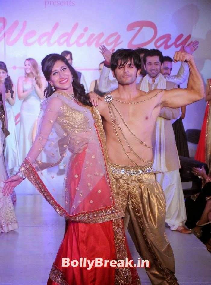 Teejay Sidhu, Karanvir Bohra, Amy Billimoria Fashion Show - The Big Fat Fashionable Wedding