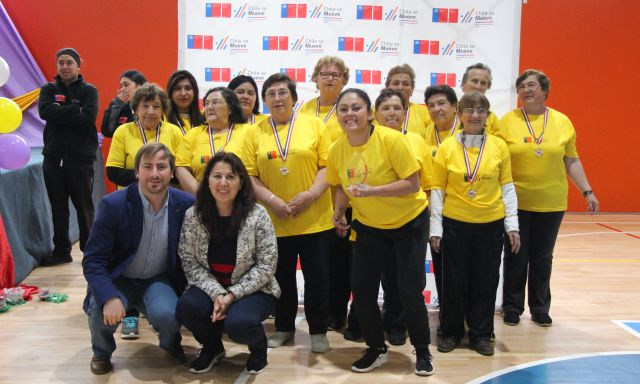 Adultos Mayores participaron de evento recreativo en Río Negro