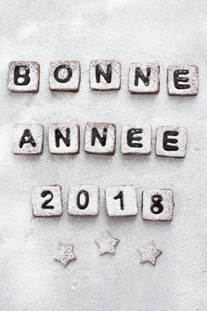 Biscuits bonne année 2018