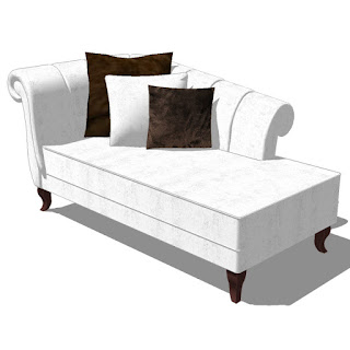 Sketchup - Chaise Longue-002