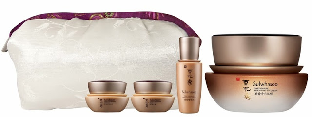 Sulwhasoo Gift Sets, Holiday Moments, sulwhasoo, skincare, korea skincare, Sulwhasoo Timetreasure Renovating Eye Cream set