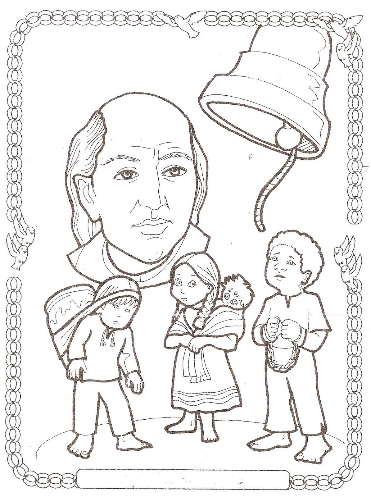 Dibujos Para Colorear 15 Septiembre Independencia Mexico