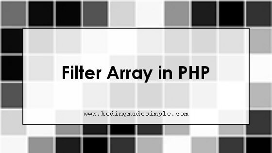 php filter array by value