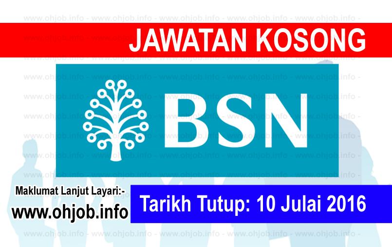 Jawatan Kerja Kosong Bank Simpanan Nasional (BSN) logo www.ohjob.info julai 2016