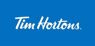 Tim hortons menu board