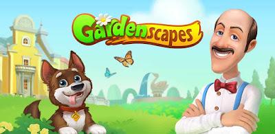 تحميل لعبة Gardenscapes مهكرة بدون رووت نجوم بلا حدود, لعبة Gardenscapes للاندرويد, لعبة Gardenscapes مهكرة
