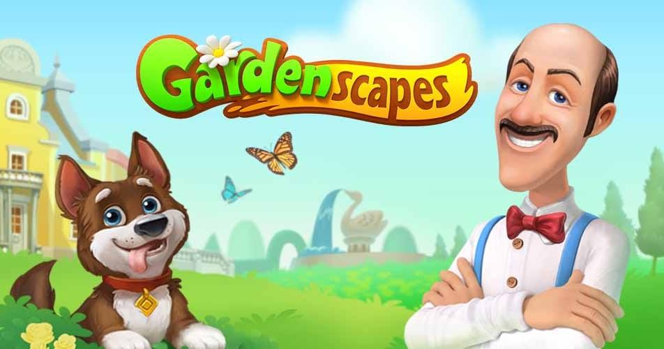 تحميل لعبة gardenscapes