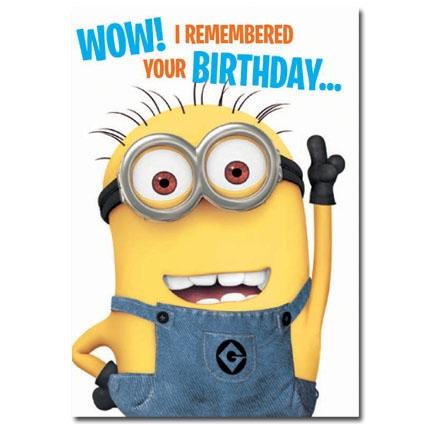 minion birthday memes