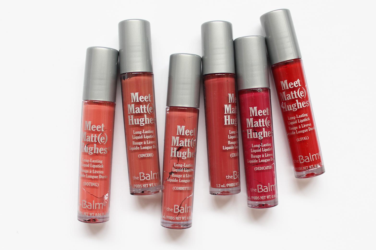 THEBALM | Meet Matt(e) Hughes Liquid Lipstick Set - CassandraMyee