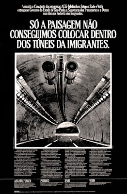 AEG-Telefunken; Peterco; Sade; Voith; 1976. reclame de carros anos 70. brazilian advertising cars in the 70. os anos 70. história da década de 70; Brazil in the 70s; propaganda carros anos 70; Oswaldo Hernandez;