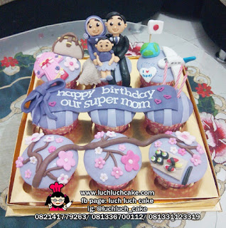 Cupcake Anniversary Fondant isi 9