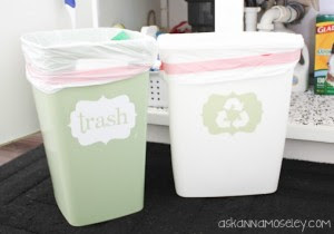 Simpan Sampah yang Benar