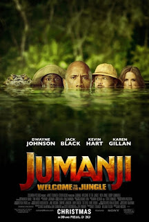 Jumanji: Welcome to the Jungle (2017) Hindi Dubbed BluRay 720p hevc – 550MB