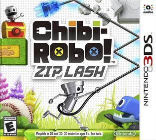 Chibi-Robo! Zip Lash, 3DS, Español, Mega, Mediafire