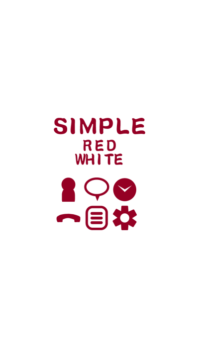 SIMPLE red×white*