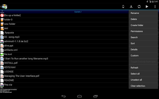 AndFTP Pro (your FTP client) v4 2 - Best Android Game App