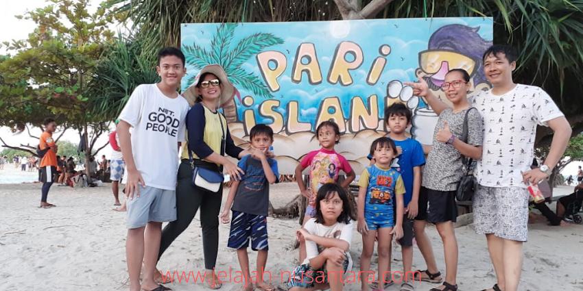paket wisata open trip pulau pari 2 hari 1 malam kepulauan seribu selatan