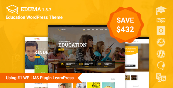 Download template Education wordpress gratis