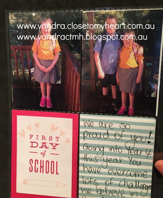 S1708, Pink, School Year, Jack, #CTMHJack, Cardmaking, Pocket Scrapbooking, Vandra's Virtual CTMH Craftroom