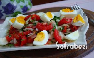 Yumurta Salatasi Nasil Yapilir