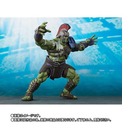 "S.H. Figuarts ""Thor: Ragnarok"" Gladiator Thor y Gladiator Hulk"