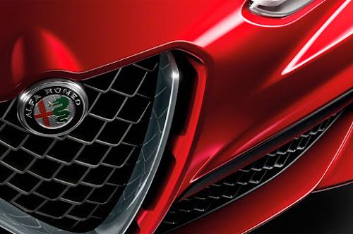 Alfa Romeo Stelvio  Grille