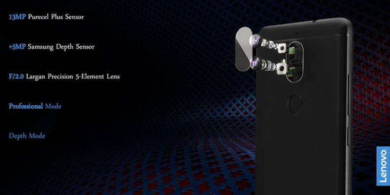 Lenovo K8 Dual Cam