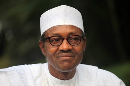 """President Muhammadu Buhari This is the moment President Muhammadu Buhari reacted to his wife's allegations that some people have hijacked his government by saying she belongs to the kitchen. Following Aisha Buhari's outburst on a BBC Hausa Network interview in which she alleged that some people have hijacked her husband's administration, President Muhammadu Buhari has reacted to his wife's interview saying: """"My wife belongs to my kitchen, living room and the other room"""". Watch the video below:"""