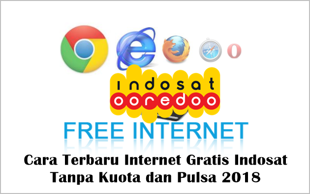 Cara Terbaru Internet Gratis Indosat Tanpa Kuota dan Pulsa