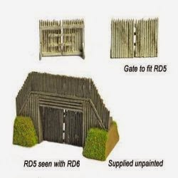 RD6 Wooden Gate for Timber/Earth Entrance (Pewter).