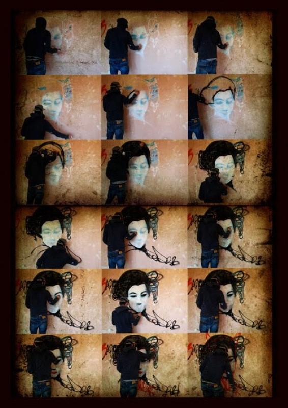 Уличный художник. Hush 15