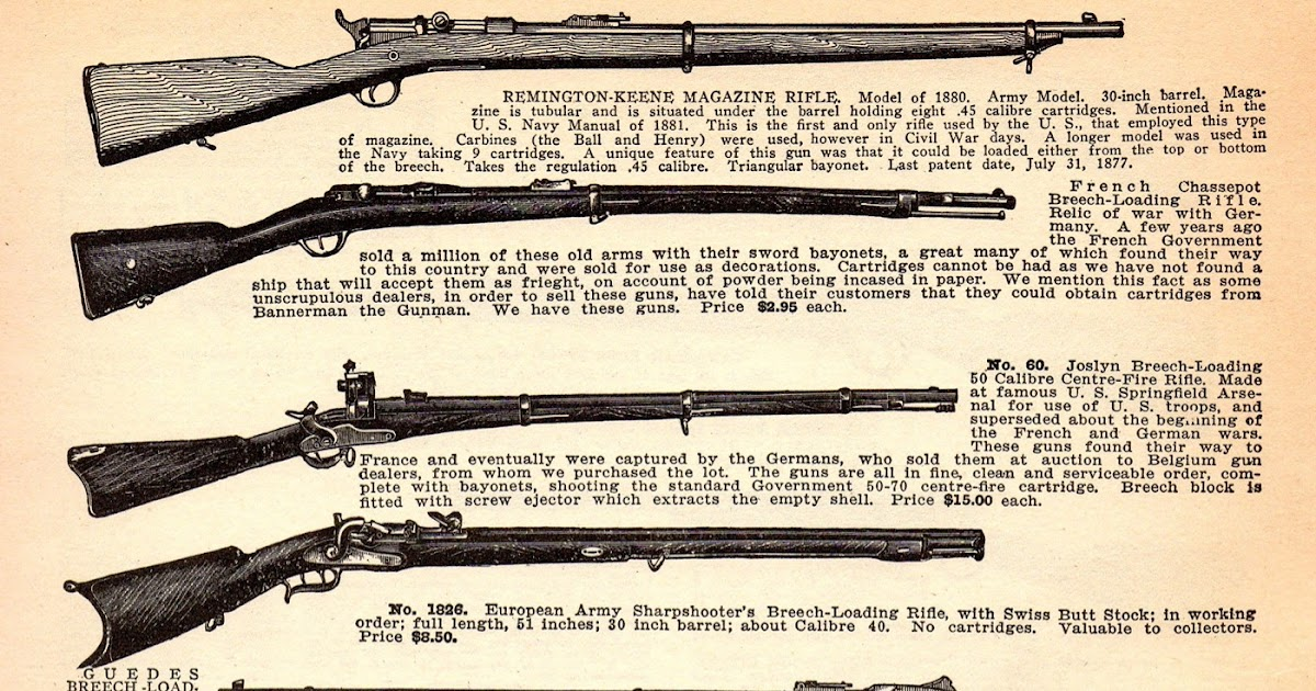 Ammo And Gun Collector 1927 Bannerman Catalogue Of