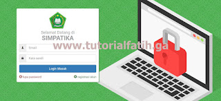 SIMPATIKA LOGIN INTERFACE
